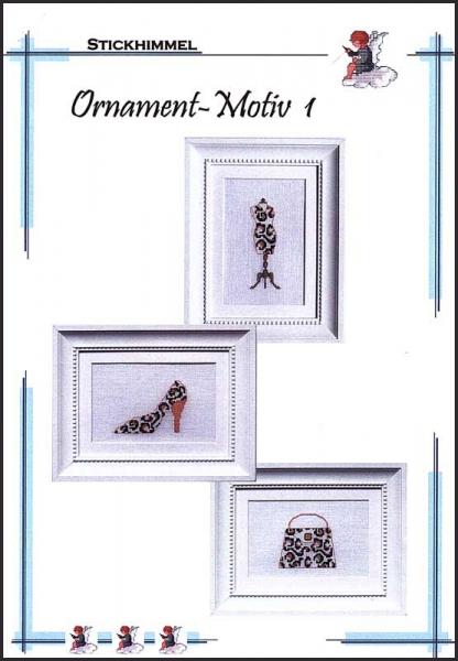 Kreuzstichanleitung 'Ornament-Motiv 1'