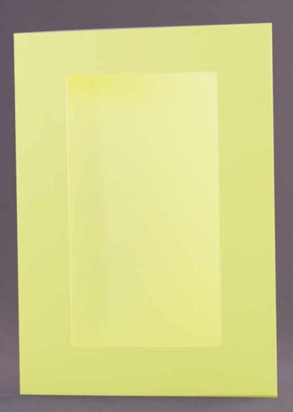 Passepartout-Karte hellgrün