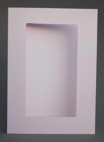 Passepartout-Karte flieder hell