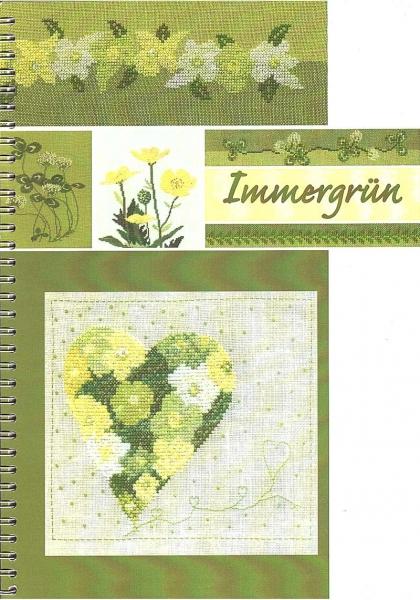Stickbuch Immergrün