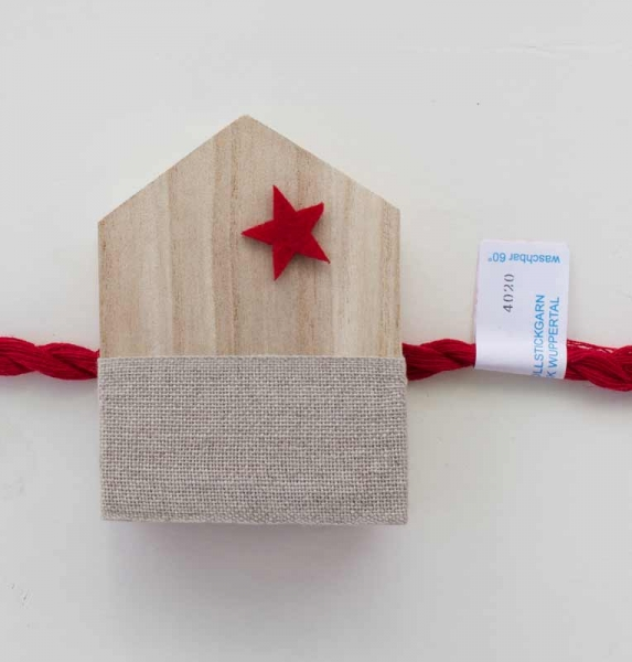 Materialpackung Holzhaus FROHES FEST