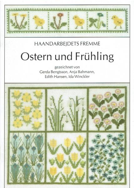Kreuzstichheft Ostern und Frühling