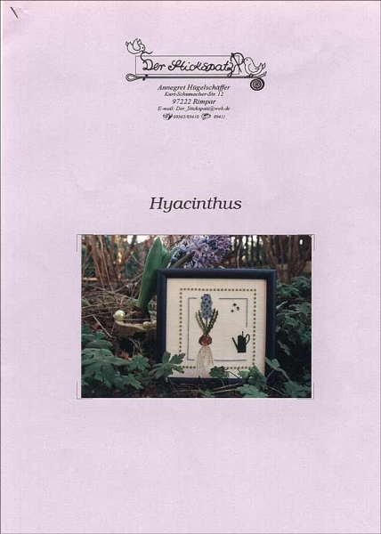 Kreuzstichanleitung HYACINTHUS