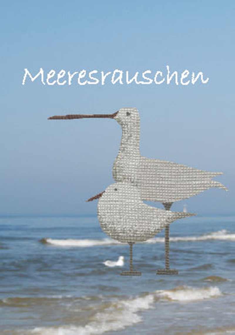 Stickbuch MEERESRAUSCHEN | Bücher | Stickvorlagen | MWi Stickgalerie