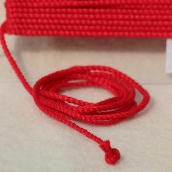 Leinenkordel rot Farbe 208