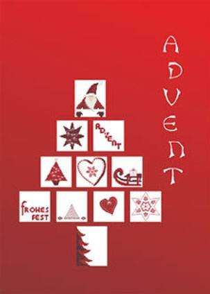 Stickbuch ADVENT
