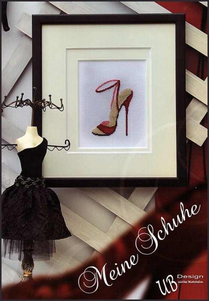 Kreuzstichheft 'Meine Schuhe'