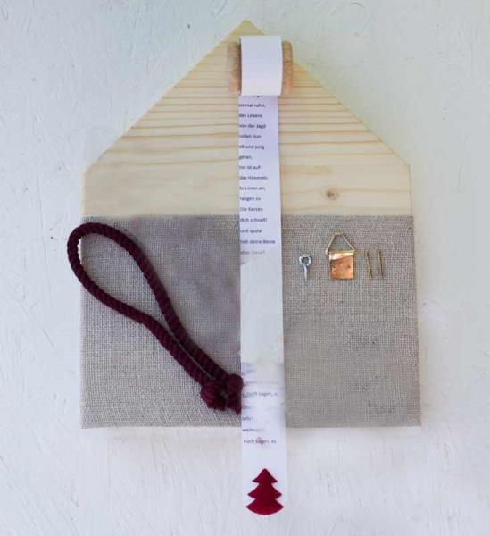 Materialpackung DRAUSSEN VOM WALDE ....ohne Garn
