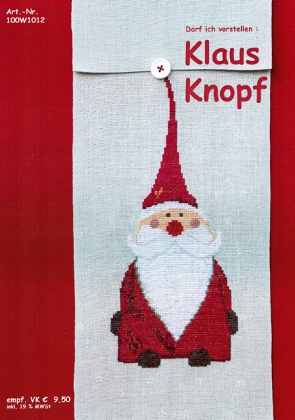 Einzelanleitung Nikolaus Klaus Knopf
