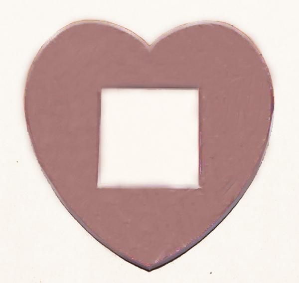 Passepartout Herz
