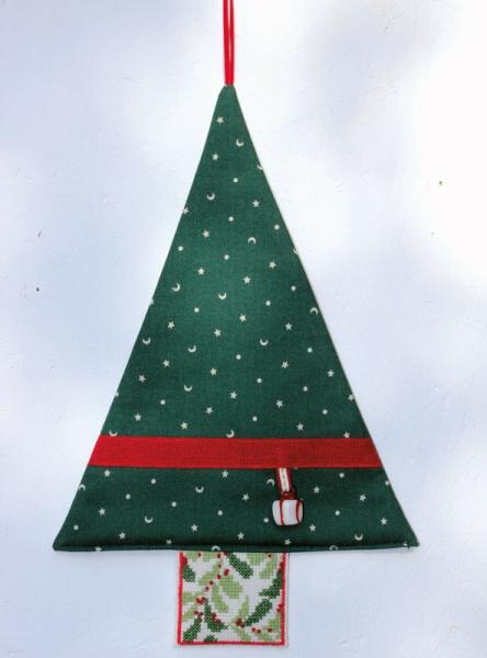 Materialpackung Tannenbaum grün