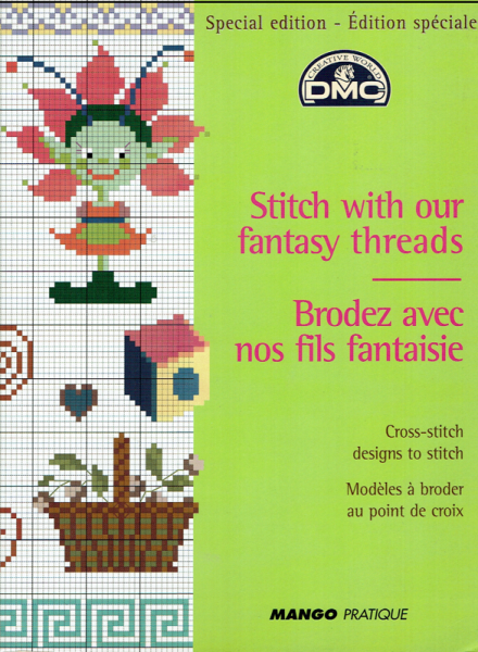 Kreuzstichheft STITCH WITH OUR FANTASY THREADS