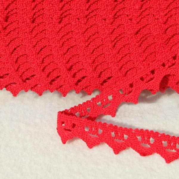 Baumwollspitze rot