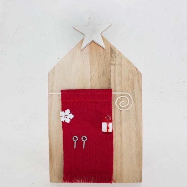 Holzhaus TÜRE ohne Garn
