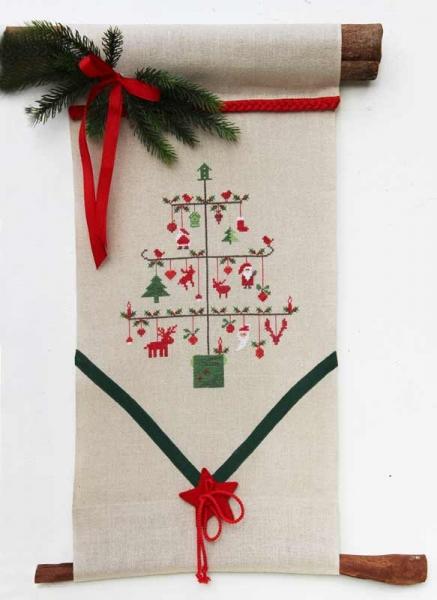 Materialpackung Wandbehang Weihnachtsständer