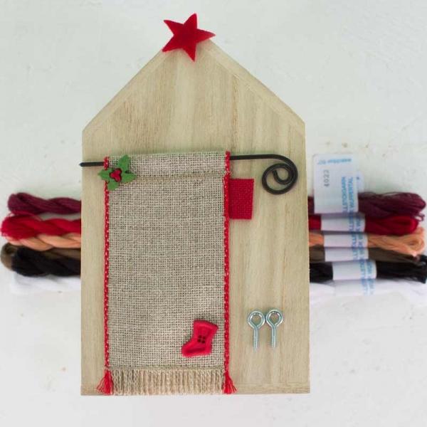 Materialpackung Holzhaus NIKOLAUS quadratisch