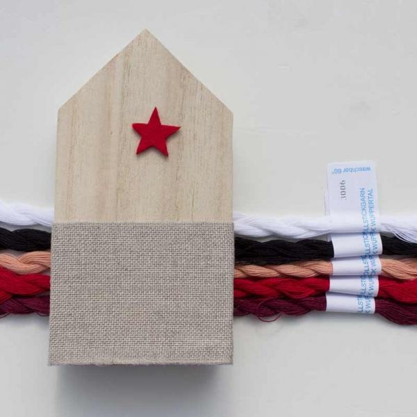 Materialpackung Holzhaus Nikolaus