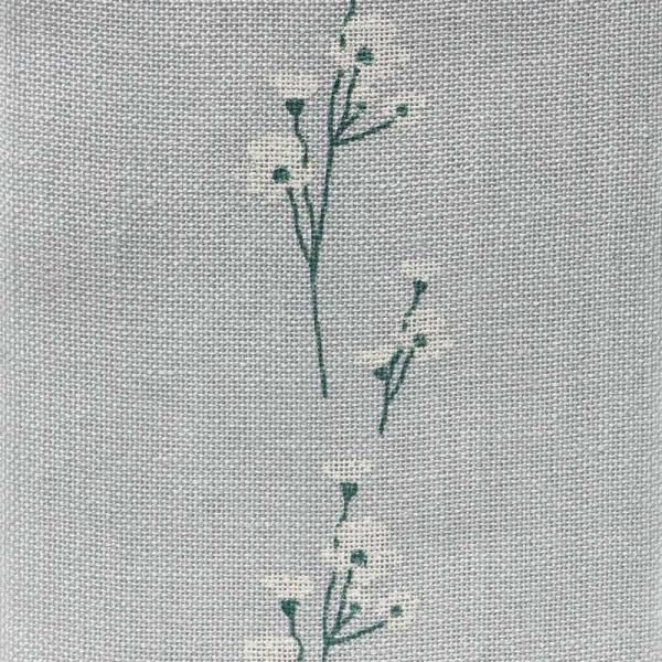 Leinenband mit Blumenmotiv