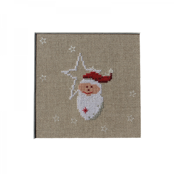 Stickpackung Nikolaus mit Sternen