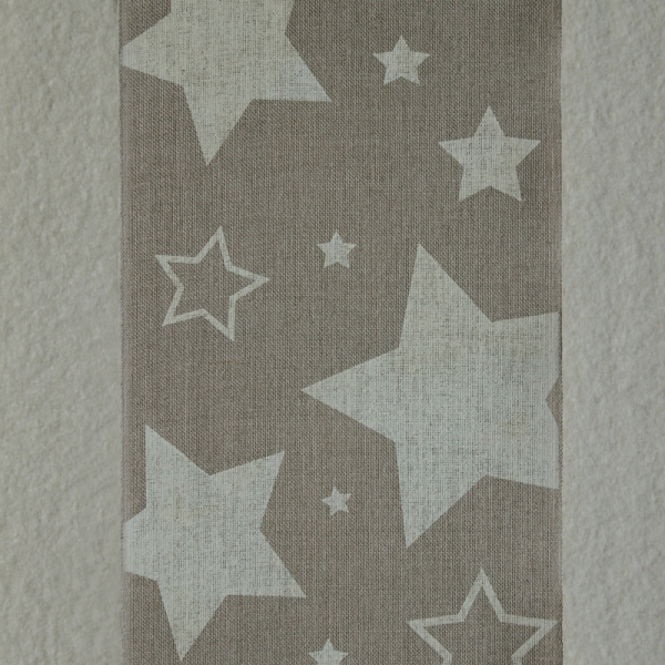 Leinenband Sterne