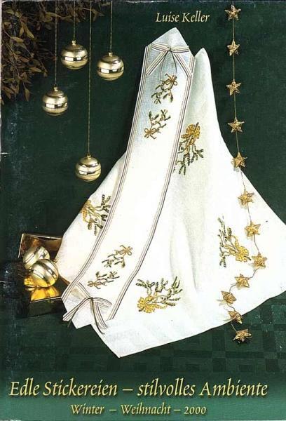 Stickheft 'Edle Stickereien Winter + Weihnachten'