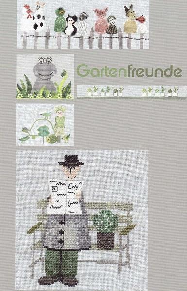 Stickbuch GARTENFREUNDE