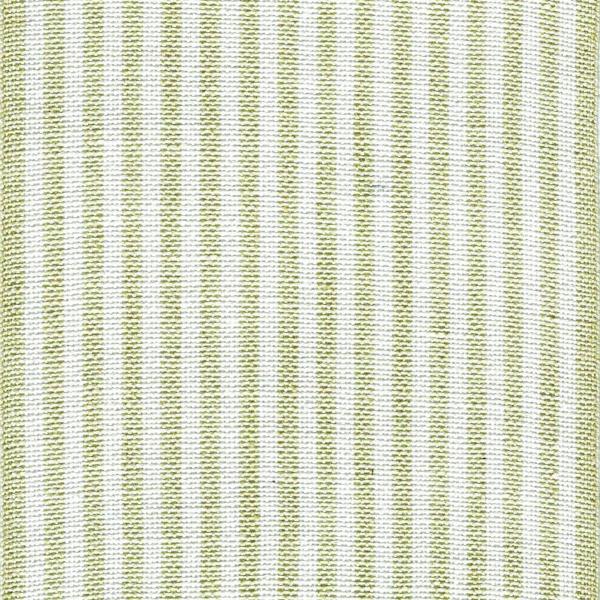 Leinenband gestreift grün weiß 24 cm breit