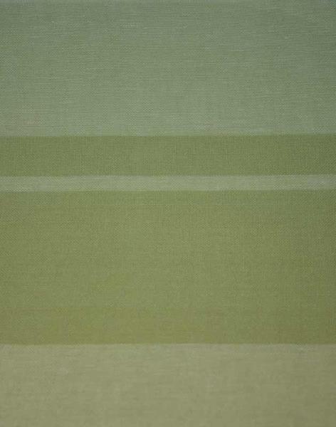 Leinenband gestreift grün