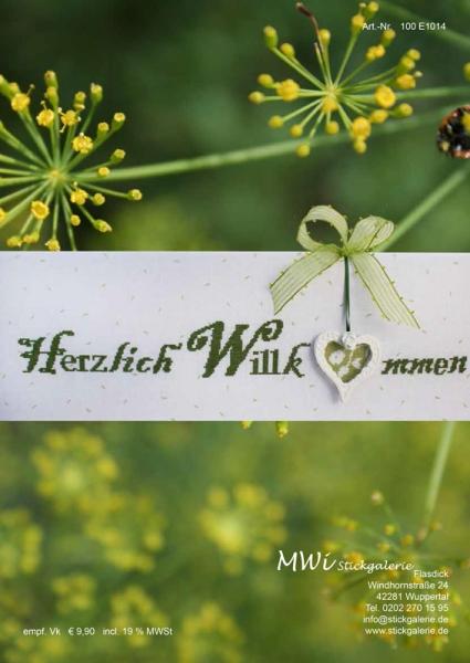 Einzelanleitung HERZLICH WILLKOMMEN