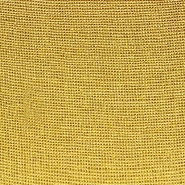 Leinenband Farbe gelb, 6 cm breit