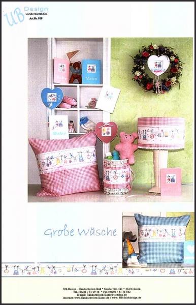 Kreuzstichvorlage 'Große Wäsche'