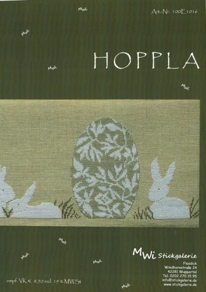 Kreuzstichanleitung HOPPLA