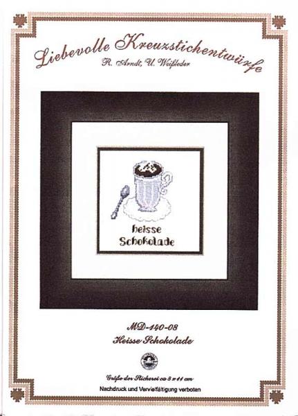 Stickpackung 'Heisse Schokolade'