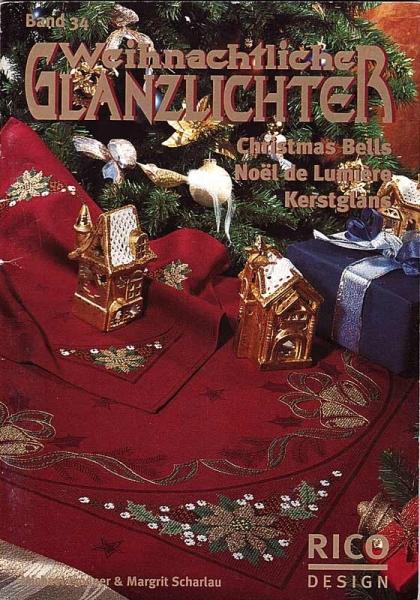 Stickheft 'Weihnachtliche Glanzlichter', Band 34'