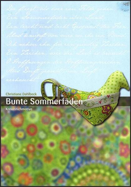 Kreuzstichanleitung 'Bunte Sommerfäden'