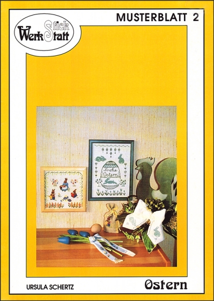 Musterblatt 2 OSTERN von Ursula Schertz