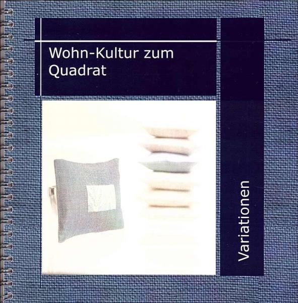Stickbuch Wohn-Kultur zum Quadrat