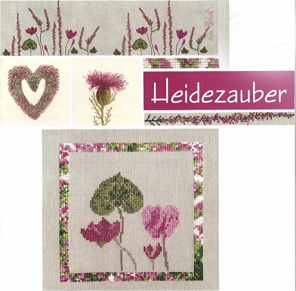Stickbuch HEIDEZAUBER