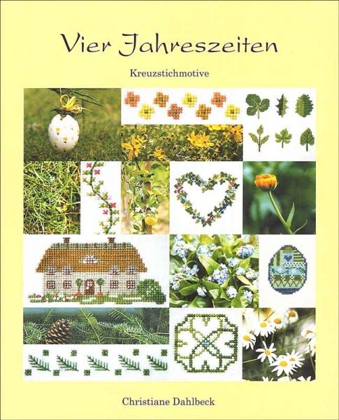 Kreuzstichbuch VIER JAHRESZEITEN von Christiane Dahlbeck