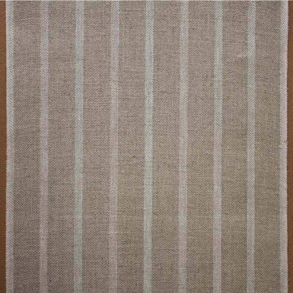 120 cm Leinenband gestreift, Farbe natur/gebleicht, 20 cm breit