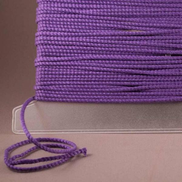 Leinenkordel violett dunkel Farbe 229
