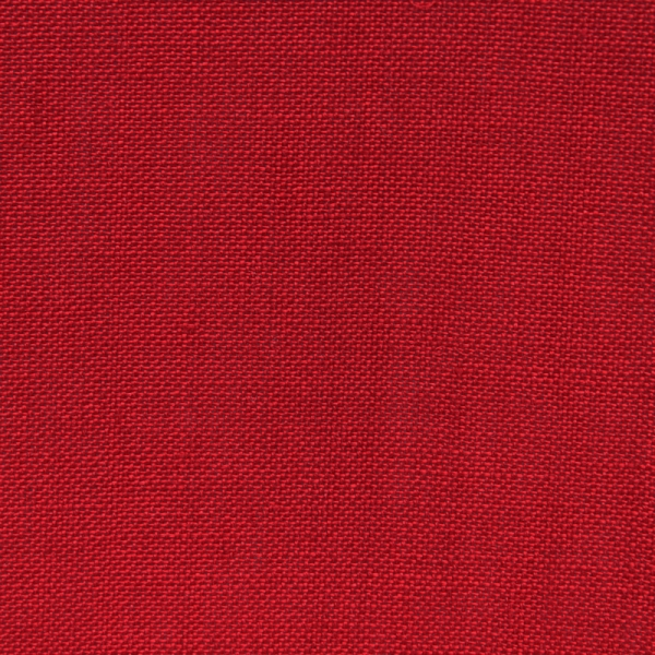 Leinenband Farbe rot-kräftig, 20 cm breit