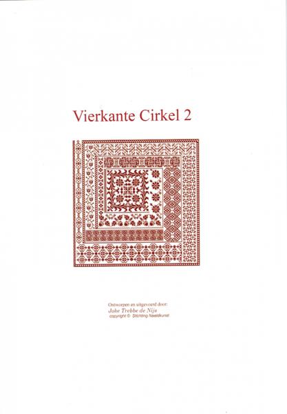 Kreuzstichanleitung VIERKANTE CIRKEL 2