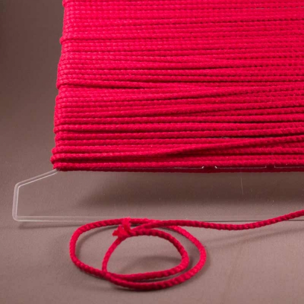 Leinenkordel rot Farbe 230