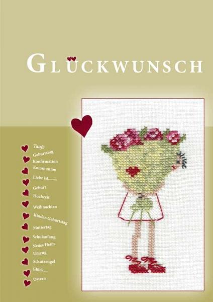 Stickbuch GLÜCKWUNSCH