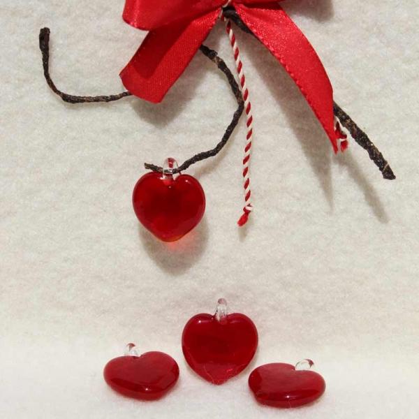 Glashänger Herz
