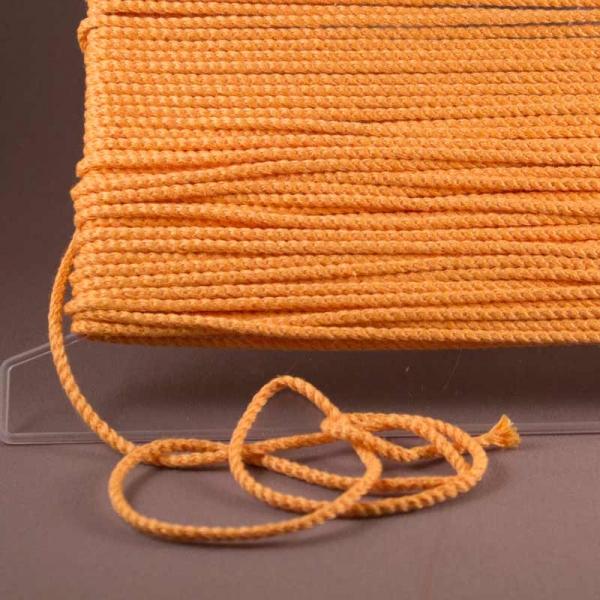 Leinenkordel mandarin Farbe 233