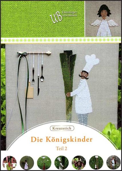 Kreuzstichheft 'Königskinder 2'