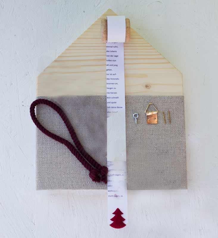 materialpackung draussen vom walde ohne garn 3484 das ist das haus vom nikolaus. Black Bedroom Furniture Sets. Home Design Ideas