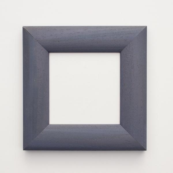 Bilderrahmen mittelblau 10 x 10 cm